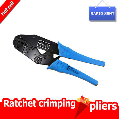 New European style FSE-625WFL 10-4 AWG 9-Inch Ratchet Crimping Plier