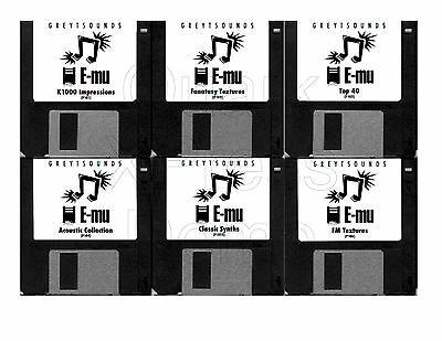 Emu Proteus Synth Patches - 6 bank set - emailed to you for download