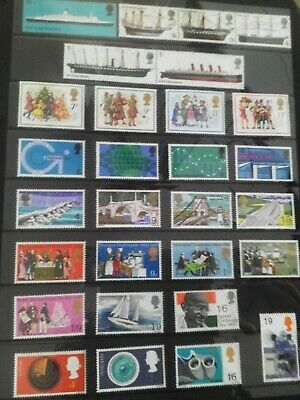 GB EII Unmounted MINT Commemorative sets 252 Stamps X 64 Sets Kept In Mint