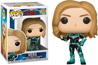 Funko Pop! Marvel Captain Marvel Vers #427