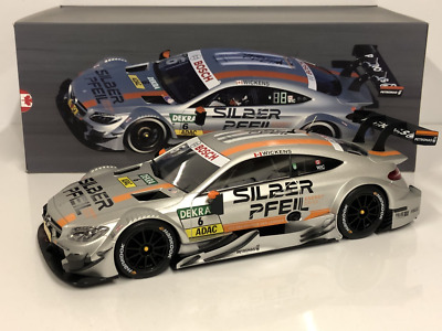 Autocult 1:18 Maßstab Mercedes AMG C63 Nr. 6 DTM Wickens 2016