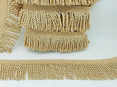 1 m 18 colours Edging Curtains,Cushions Fine Bullion Fringe Trimming Sewing