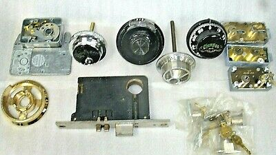 Lot of 9 Misc/Various Lock Related Parts, New-Used-Parts-etc-LOCKSMITH