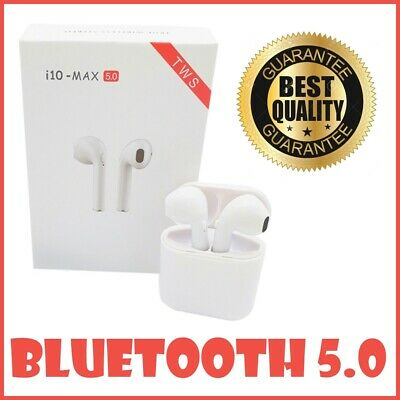 I10 Max Tws Bluetooth Earbuds True Stereo Wireless Airpods Headphone Ios&android