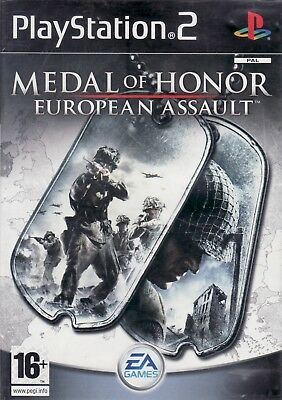 Medal Of Honor: European Assault - PlayStation 2 / PS2