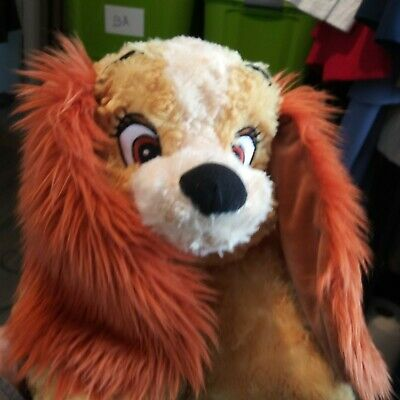 Disney Parks Lady And The Tramp Pillow Pet Dog Toy Plush