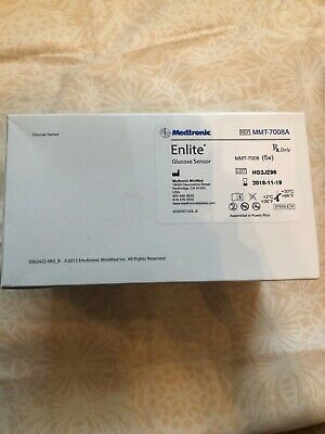Enlite Sensors Mmt-7008A, Sealed Box Of 5 Sensors, Exp 2018