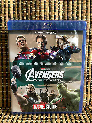 Avengers 2: Age Of Ultron (Blu-ray, 2018)Marvel/Thor/Iron Man/Hulk/Fury