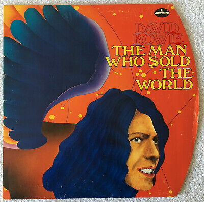David Bowie - The Man Who Sold The World - Original Germany Round Cover - Nm/ex+