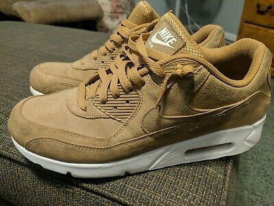 NIKE AIR MAX 90 ULTRA 2.0 LEATHER Brown Size 11 pre owned