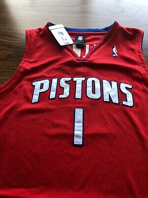 Authentic Chauncey Billups Detroit Pistons Reebok Jersey NWT Size 56 For  SaleOBO 051162a43