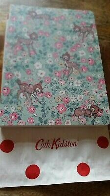 Official Cath Kidston X Bambi Ditsy Notebook Note Book Disney