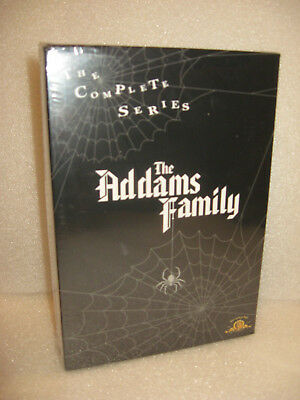 The Addams Family The Complete Series Dvd Box Set,1-3