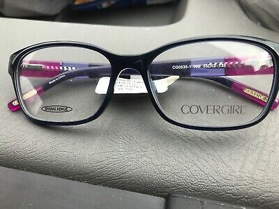 5adacdf9883d New COVERGIRL Women's Optical Eyeglasses RX Frame CG0535-1 092 Blue 53-15-