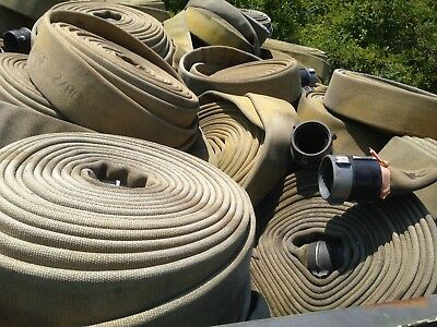 """3"""" & 3.5"""" Water Hose (Military & Firefighter Hoses)"""