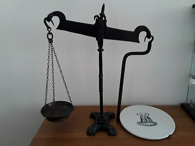Set of Antique Victorian Dairy Scales
