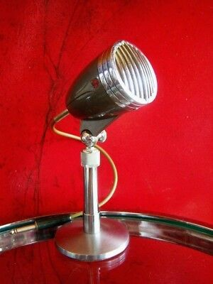 Vintage RARE 1950's Argonne M-120 crystal microphone Japanese Aiwa w stand