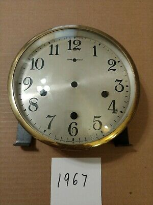 New Haven Tambour Mantle Clock Dial And Bezel With Glass From Westminster Chimes