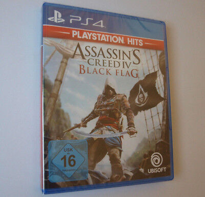 Assassin's Creed IV: Black Flag Sony PlayStation 4 NEU & OVP PS4 Hits Assassins
