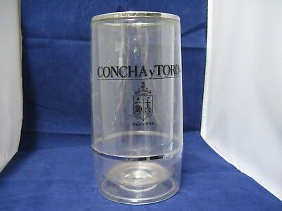 Concha y Toro Wine Bottle Cooler   Double Walled Table Wines Chiller Holders