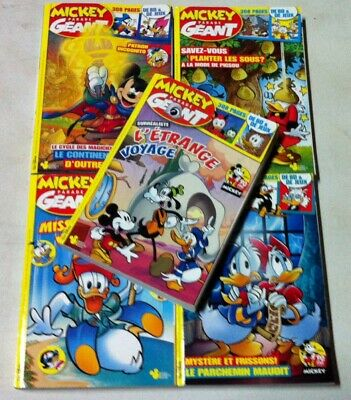 Lot Mickey Parade Geant N°363-364-365-366-367