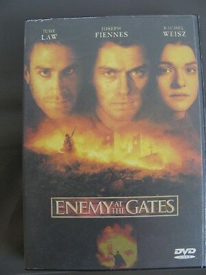DVD movie: Enemy at the Gates 2001 Starring: Jude Law, Ed Harris, Joseph Fiennes