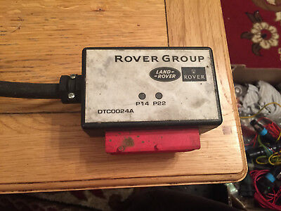 Rover/land Rover Testbook Lead T4 Dtc0024A