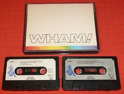 Wham - Uk Cassette Tape X 2 - The Final - Paper Labels (Greatest Hits/best Of)