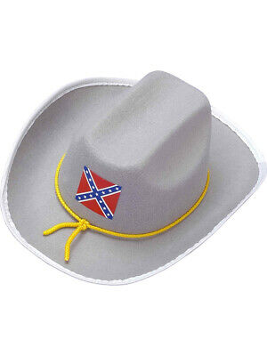 6a8a4c7c903 ADULT SOUTHERN GREY Civil War Costume Officer Soldier Hat -  6.98 ...