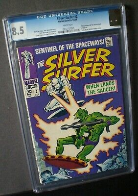 Silver Surfer # 2 CGC 8.5  ~Early Silver Surfer~ Oct- 1968