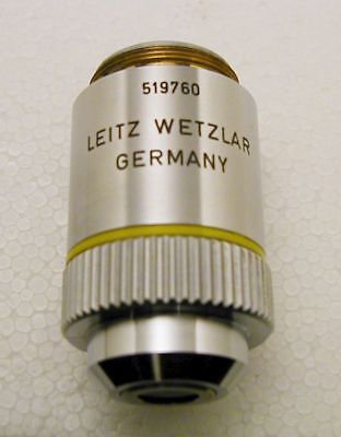 Leitz EF 10x Microscope Objective, 160mm, Good Condition.