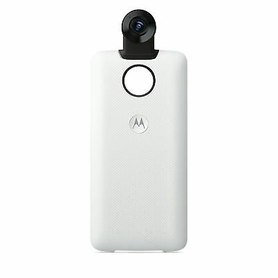 Motorola Moto Mod - 360 Camera (4K video, immersive 3D sound, 150° wide angle)