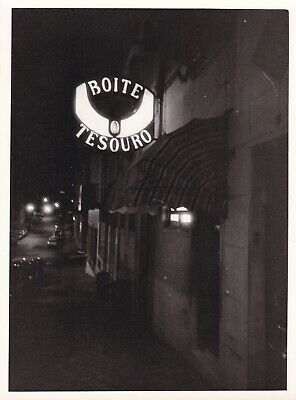 Silver Photograph Portugal at Night 1950