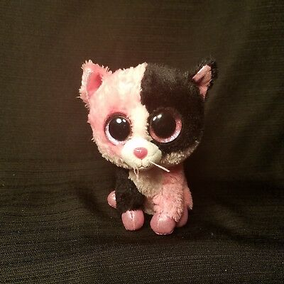 """Beanie Boos TY 6""""  Dazzle the Cat  Very RARE No Hang Tag Justice"""