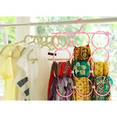 831b81fa50556 Multi Scarf Scarves Hanger Display Hang Ties Belt Organize Circle Holder Storage  Storage Solutions Home, ...