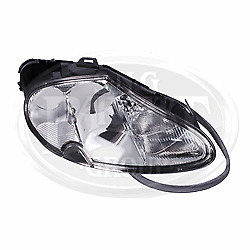 Jaguar XK8/XKR 1999-2006 Headlamp Right Hand Front LJA4650AA