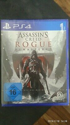 Assassin's Creed Rogue - Remastered (Sony PlayStation 4,2018) Neu! Versiegelt!