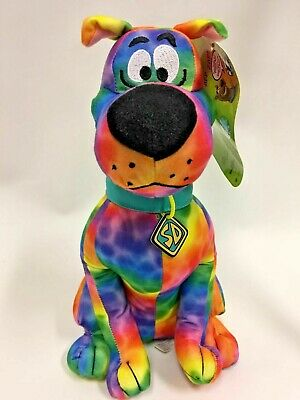 """NEW  12/"""" TALL PLUSH CARTOON NETWORK TOY FACTORY LICENSED SCOOBY DOO"""