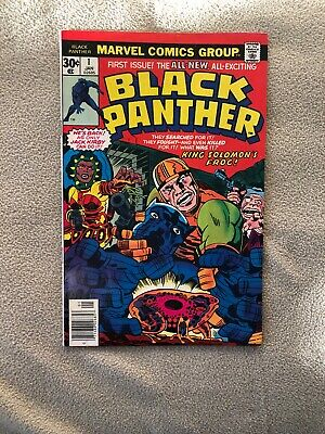 Black Panther #1 Jan 1977 Marvel Comics First 1st Issue Black Panther