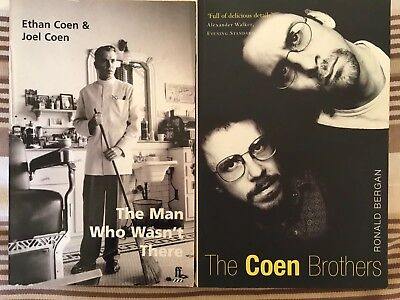 The Man Who Wasn't There SCRIPT & Coens Biography - 2 COEN BROTHERS Books - Film