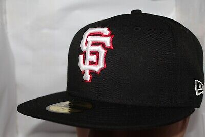 info for a06bc db8da San Francisco Giants New Era MLB Black Red Out 59Fifty,Cap,Hat   37.99