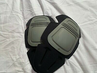 Crye Precision  Airflex Combat Removable Knee Pad Inserts Acu Grey