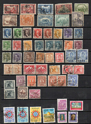Iiraq 159 Different Used Stamps