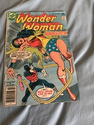 Wonder Woman #236 Armageddon Dc Comics 1977