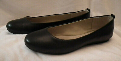 5b2d103fbc Easy Spirit E360 Ballet Flats in Black Leather with Rubber Sole-8.5M-A  Classic!