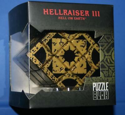 Hellraiser III Lemarchand's Box Lament Configuration Puzzle Mezco HTF New Minty