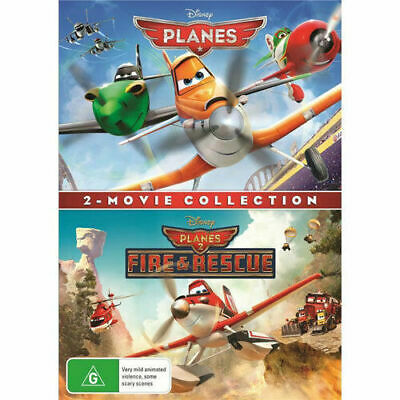 Planes + Planes: Fire & Rescue 2 Movie Collection BRAND NEW Region 4 DVD Disney