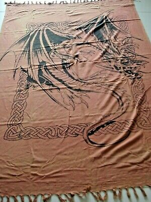 Red Dragon Cloth Banner