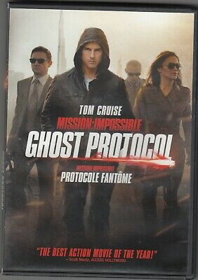 """"""" Mission Impossible - Ghost Protocol """" - lightly Used DVD"""