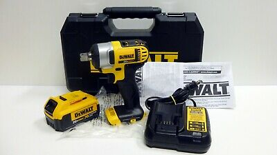 Dewalt Dcf880 Cordless Impact Wrench 1 2 Drive Battery Charger Case